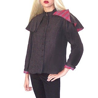 Dolores Piscotta Women's Capelet Jacket