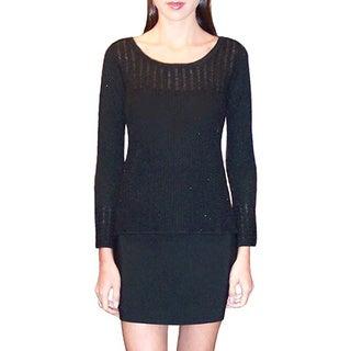 Dolores Piscotta Women's Cashmere and Lurex Sweater