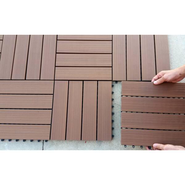 Superwood Deck Tiles Composite Cedar