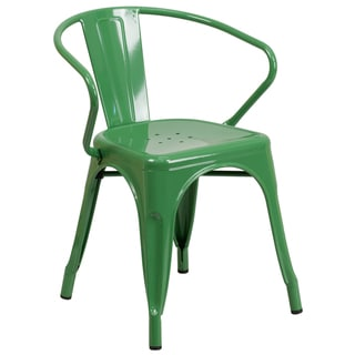 Metal Chair with Arms