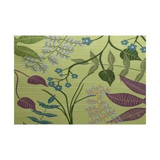 Botanical Floral Print Rug (3' x 5')