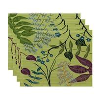 Botanical Floral Print Placemats