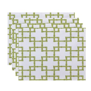 Bambies 2 Geometric Print Placemats