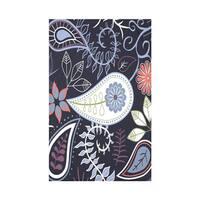 Paisley Floral Print Throw Blanket