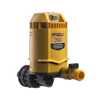 MP2000 A Wet Dry Vac, Drain Attached Water Pump