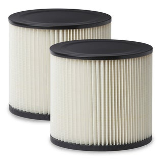 Multi-Fit VF2007TP Standard Cartridge Filter for Shop Vacuum (2-pack)