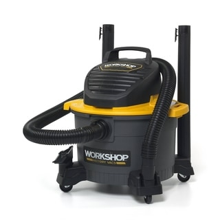 WORKSHOP Wet Dry Vac WS0610VA General Purpose Wet Dry Vacuum Cleaner, 6 gal. 3.5 Peak HP Wet/ Dry Shop Vacuum Cleaner
