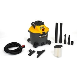 WORKSHOP WS1200DE 5.0 Peak HP, 12 gal. Wet/Dry Vac w/ Leaf Blower