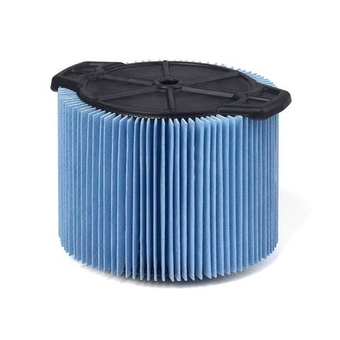WORKSHOP Wet/Dry Vacs WS12045F 3 gal. to 4 1/2 gal. Fine Dust Filter Wet/ Dry Vac - Blue
