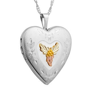 Black Hills Gold over Silver Locket