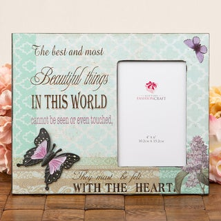 Beautiful Things' Butterfly Frame Gift by Fashioncraft