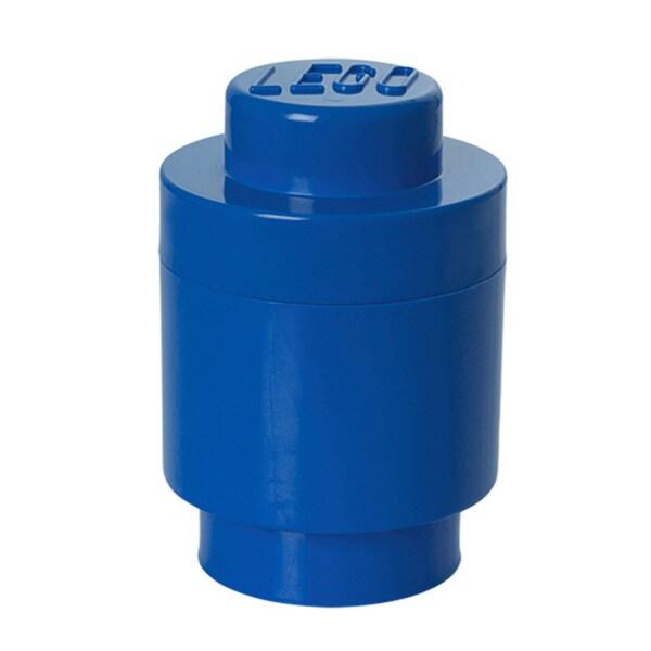 LEGO Bright Blue Round Storage Brick 1