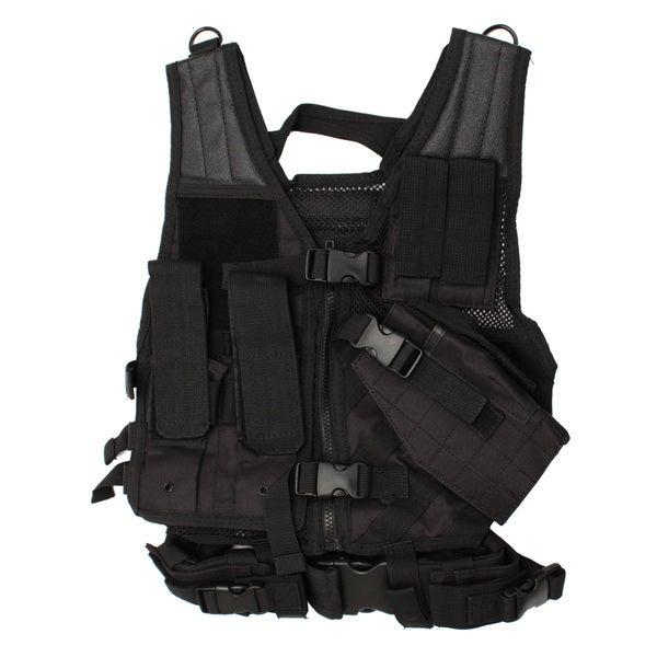 NcStar Tactical Vest Childrens, Black XS-S