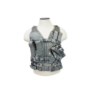 NcStar Tactical Vest Childrens, Digital Camo XS-S