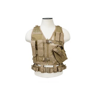 NcStar Tactical Vest Childrens, Tan XS-S