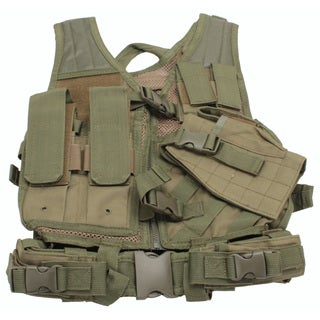 NcStar Tactical Vest Childrens, Green XS-S