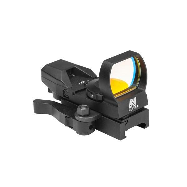 NcStar Green Reflex Sight/4 Reticles/QR Mount/Black
