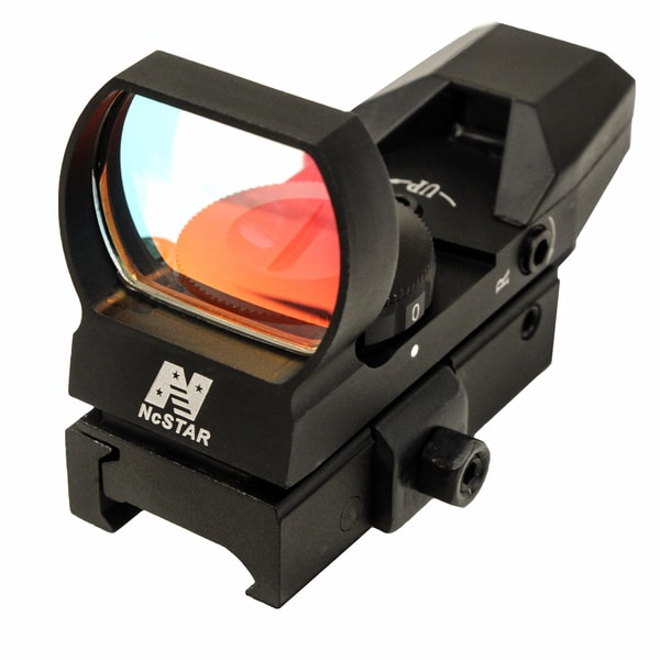 NcStar Red Reflex Sight/4 Reticles/QR Mount/Black