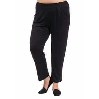 24/7 Comfort Apparel Women's Plus Size 2-pocket Straight Leg Pant|https://ak1.ostkcdn.com/images/products/10759202/P17812074.jpg?impolicy=medium