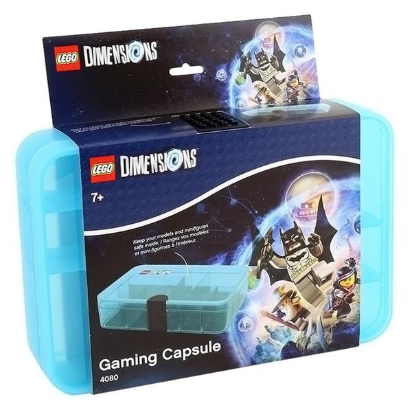 LEGO Transparent Light Blue Gaming Capsule