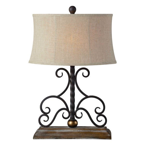 Houston Table Lamp 1 Piece Set