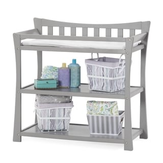Child Craft Parisian Cool Gray Dressing/Changing Table