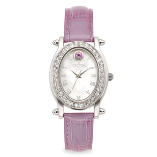 Croton Women's CN207537LVMP Stainless Steel June Birthstone Watch