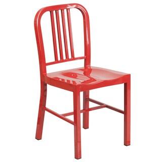 Multi-colored Metal Indoor/ Outdoor Chair