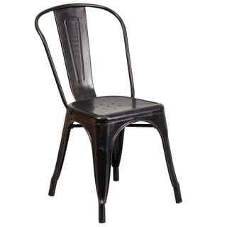 Antique Metal Dining Chair