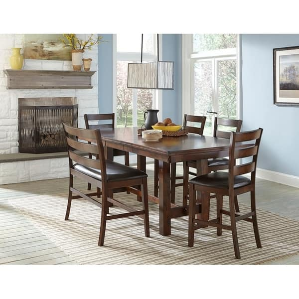 Pleasant Kona Raisin Ladderback Barstool Dining Bench Gmtry Best Dining Table And Chair Ideas Images Gmtryco
