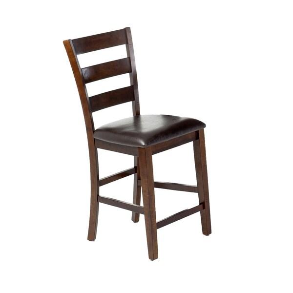 Kona Raisin Ladderback Barstool (Set of 2)