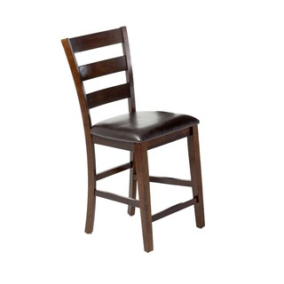 Kona Raisin Ladderback Barstool (Set of 2)