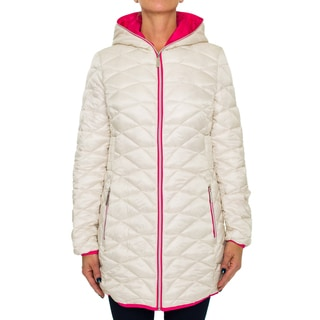 Betsey Johnson Slim Fit Puffer Coat