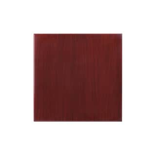 24-inch Square Resin Mahogany Table Top