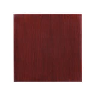 30-foot Square Resin Mahogany Table Top