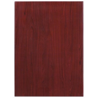 30-foot x 42-inches Rectangular Resin Mahogany Table Top