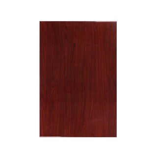 30'' x 45'' Rectangular Resin Mahogany Table Top
