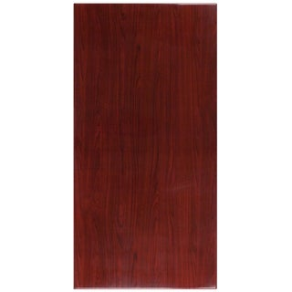 30-foot x 60-inches Rectangular Resin Mahogany Table Top