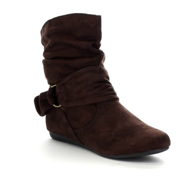 Beautiful 2016 New Fashion Women Winter Ankle Boots Women Hidden Wedges Boots