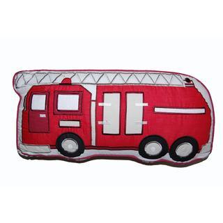 Fire Truck Decorative Pillow