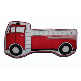Decorative Fire Truck Pillow