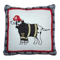 Dalmatian Fire Dog Decorative Pillow