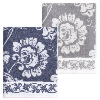 Authentic Hotel and Spa Anna Turkish Cotton Jacquard Bath Towel (Set of 2) (2 options available)