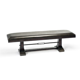 Hayden Rough Sawn Espresso 56 Inch Bench