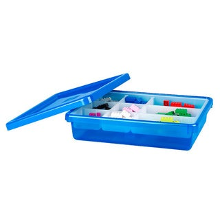 LEGO Blue Small Storage Box with Lid