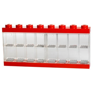 LEGO Bright Red Minifigure Display Case 16