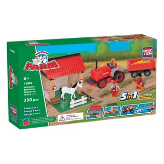 Brictek 5-in-1 Farm Set