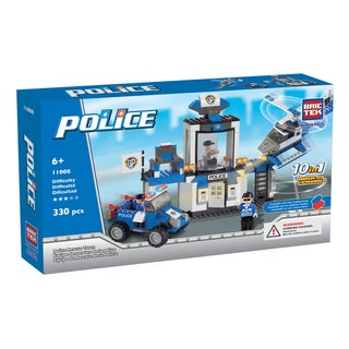 Brictek 10-in-1 Police Rescue Team