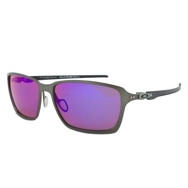 b03e5a3fd6b Shop Oakley OO6017-03 Tincan Polarized Sunglasses - Free Shipping ...