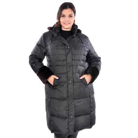 Women's Plus Size 'Zurich' Puffer Coat
